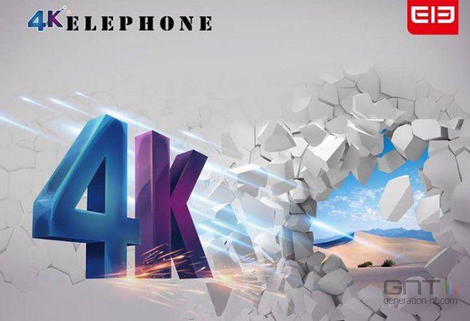 Elephone smartphone 4K