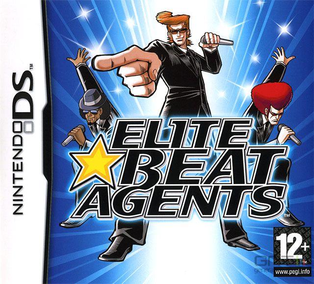 Elite Beat Agents - Pochette PAL