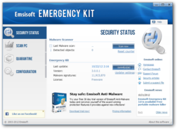 Emsisoft Emergency Kit screen2