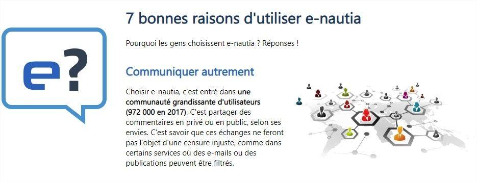 E-Nautia : la plateforme française de services Web qui veut concurrencer Google