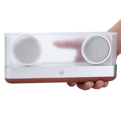 Enceinte Bluetooth 20W BassPal i30 Transparents