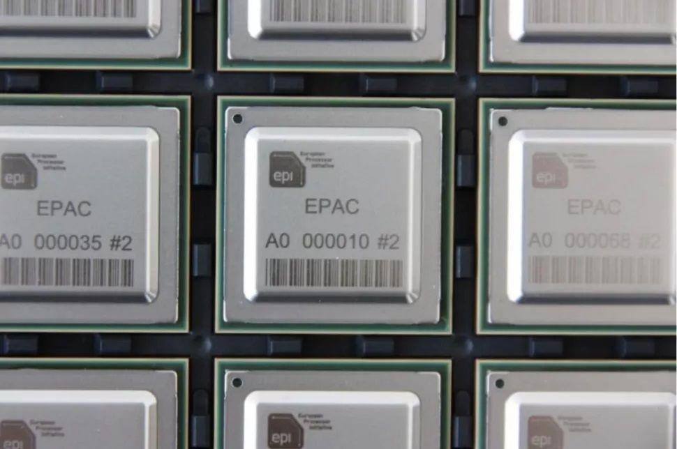 EPI EPAC RISC V