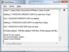 EraseTemp : un logiciel de nettoyage pour supprimer les fichiers temproraires