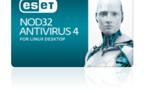 ESET NOD32 Antivirus 4 for Linux Desktop : une protection complète pour sécuriser des ordinateurs sous Linux