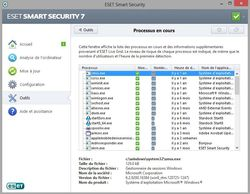 Eset Smart Security 7  processus