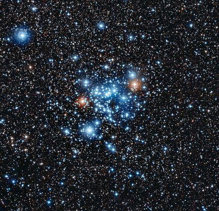Etoiles luminosité changeante dans Ngc-3766