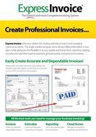 Express Invoice Free Edition : facturer facilement, en toute tranquillité !