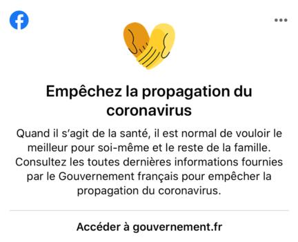 facebook-fil-actualite-message-coronavirus