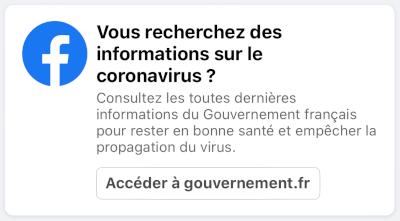 facebook-message-recherche-coronavirus
