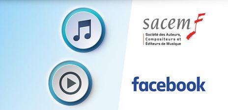 Facebook-Sacem