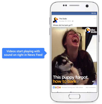 Facebook-video-son-par-defaut