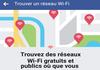 Facebook pour trouver du Wi-Fi gratuit