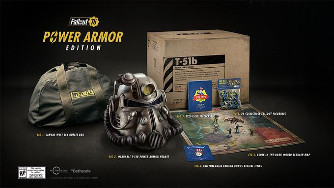 Fallout 76 collector 200$