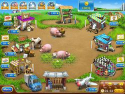 farm frenzy 2 Panique à la ferme screen 2