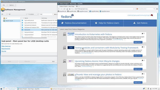 Fedora-LXQt