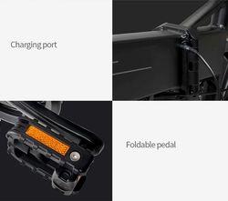 Fiido M1 - Vélo pédales rétractables et recharge