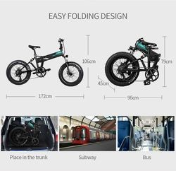 Fiido M1 - Vélo Plié