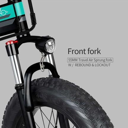 Fiido M1 - Vélo Suspension fourche avant