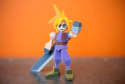 final fantasy 7 impression 3D
