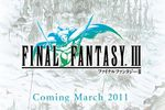 Final Fantasy III iPhone - logo