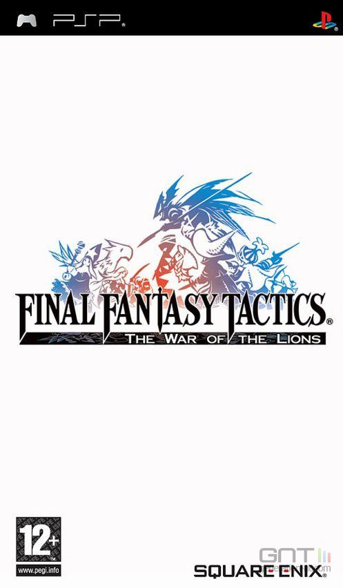 Final Fantasy Tactics PSP - Pochette PAL