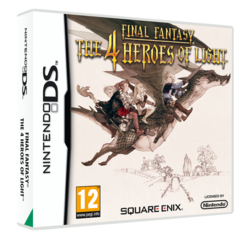 Final Fantasy : The 4 Heroes of Light - pochette