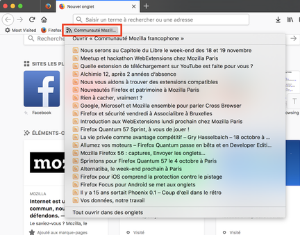 Firefox-live-bookmarks