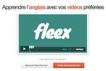 Fleex : améliorer son niveau en anglais tout en regardant des vidéos