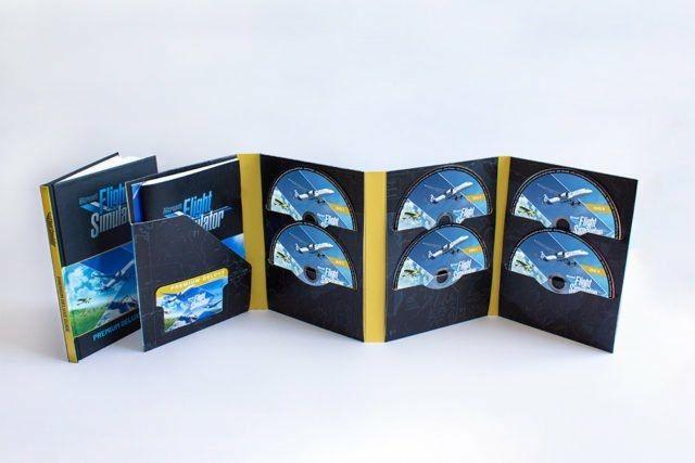 Microsoft Flight Simulator 2020 : la version physique sur 10 DVD