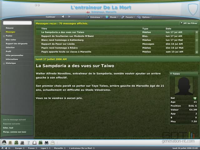 Football Manager 2007 image 17