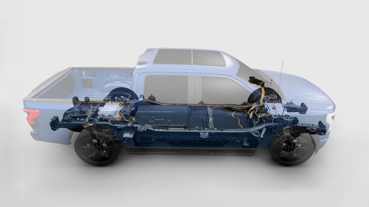 Ford F150 Lightning motorisation
