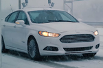 Ford voiture autonome neige
