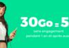 RED lance son offre 30 Go pour 5€ à vie