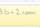 Formules mathématiques 3
