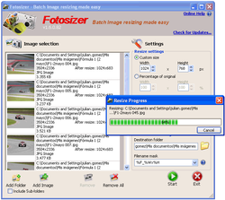 Fotosizer screen2