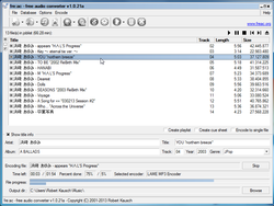 freac - free audio converter screen1