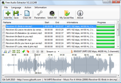 Free Audio Extractor screen1