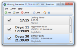 Free Countdown Timer Portable screen 1 (2)