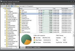 Free Disk Usage Analyzer screen1