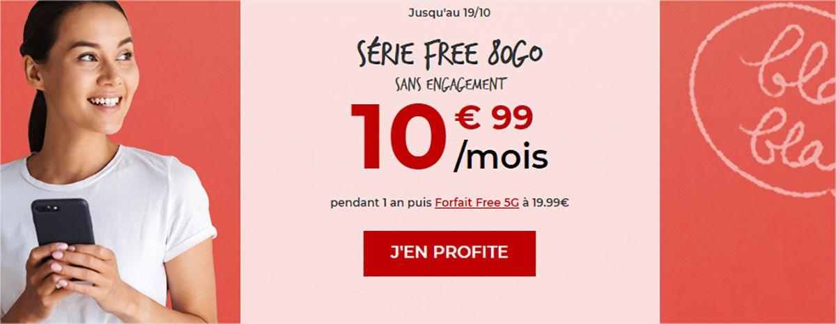 free forfait 10