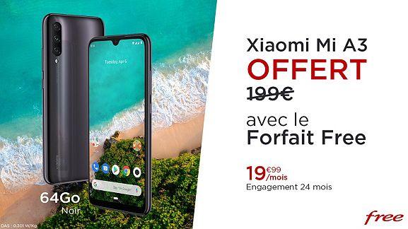 free-mobile-veepee-forfait-xiaomi-mi-a3