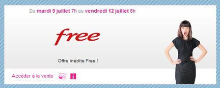 Free mobile vente privée
