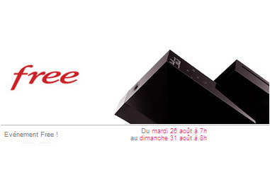 free une promotion pour la freebox r volution. Black Bedroom Furniture Sets. Home Design Ideas