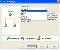 Free Virtual Serial Ports Emulator screen 1