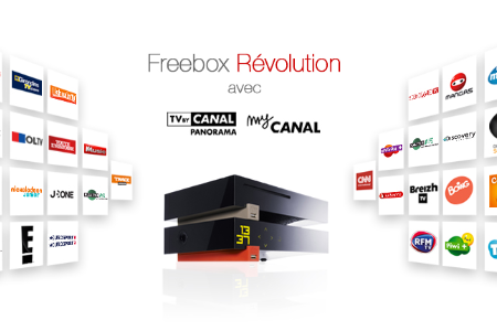 freebox r volution free reprend la migration vers tv by canal panorama. Black Bedroom Furniture Sets. Home Design Ideas