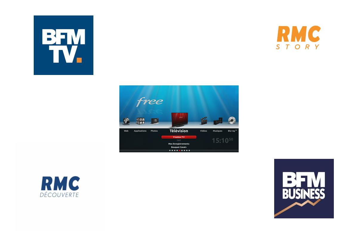 Bfm Et Rmc Free Coupe Les Chaines Sur Freebox Maj2 Free