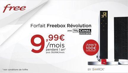 Freebox vente privée
