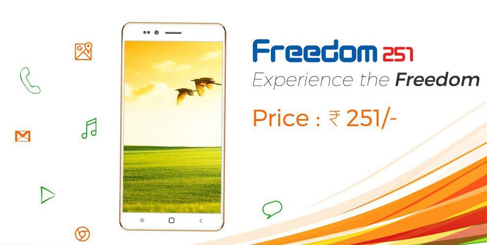 freedom 251 le smartphone le moins cher du monde a droit une publicit un peu plus honn te. Black Bedroom Furniture Sets. Home Design Ideas