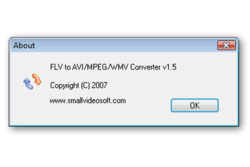 Freez Flv to AVI MPEG WMV Converter screen1