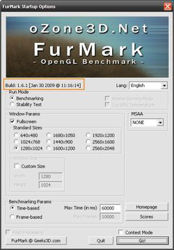 Furmark screen2